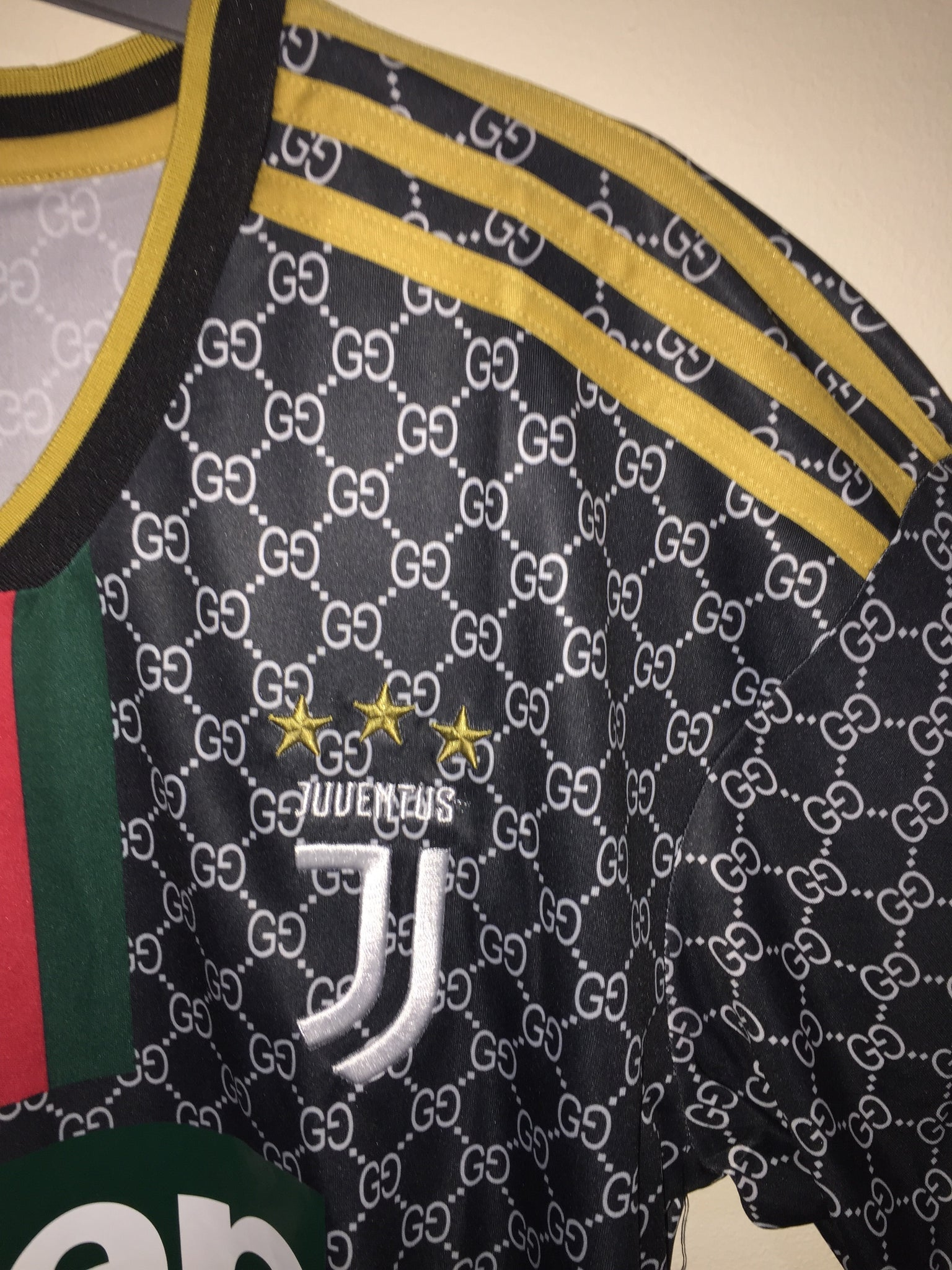 Juventus X Gucci Away The Jersey Market Place