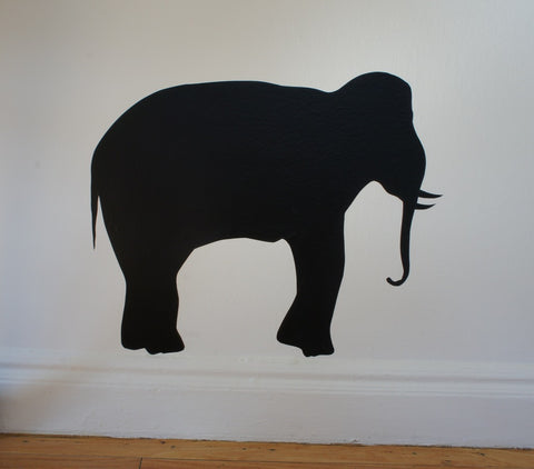 The Elephant in the Room. Vinyl Decal.