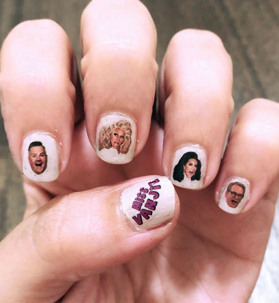 Queer Eye Nail Decals
