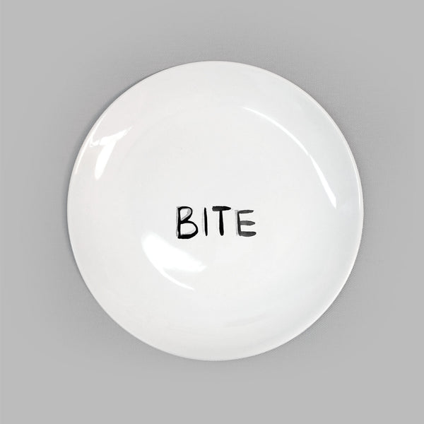 Dirty Dishes. Bite Plate.