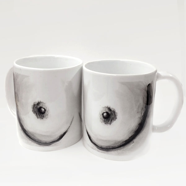 Dirty Dishes. Boob Mug.
