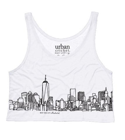 New Skyline. The Cropped Tank.