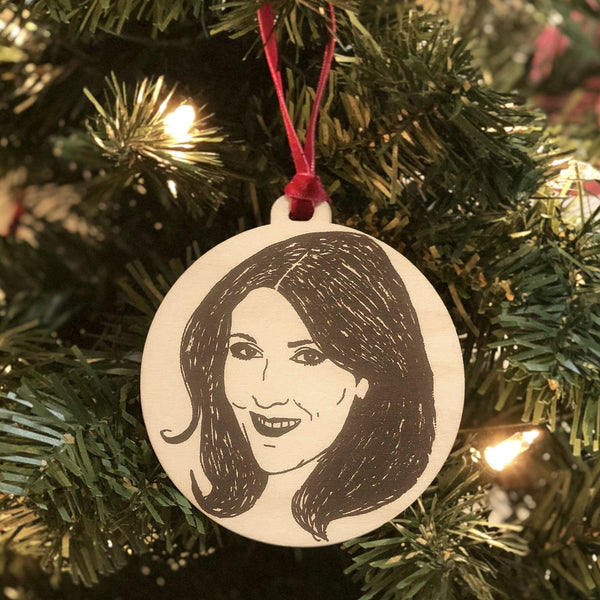 Celine Holiday Ornament