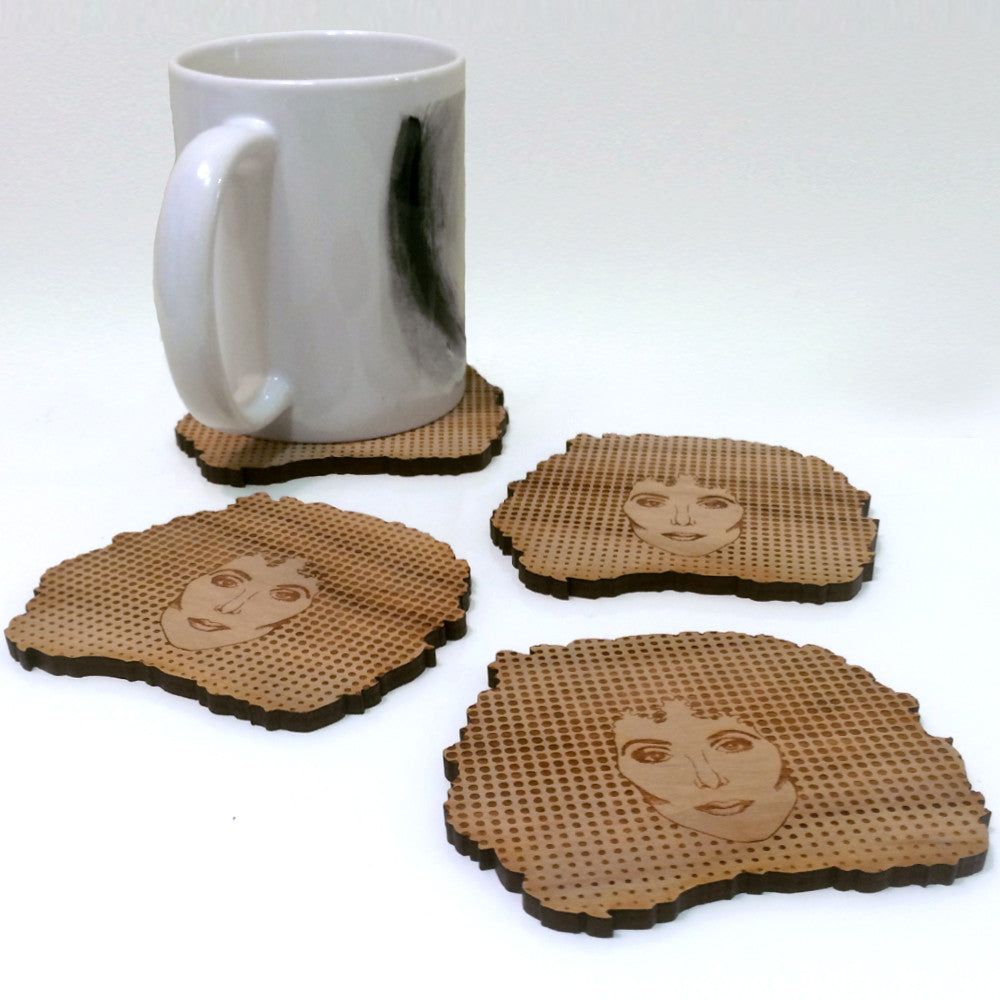 Did Somebody Say Cher? Coaster Set