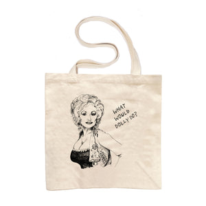 What Would Dolly Do? The Large Tote