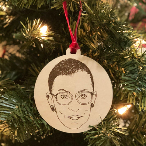 RBG Holiday Ornament