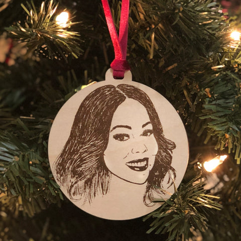 Mariah Holiday Ornament