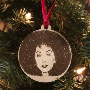 Cher Holiday Ornament