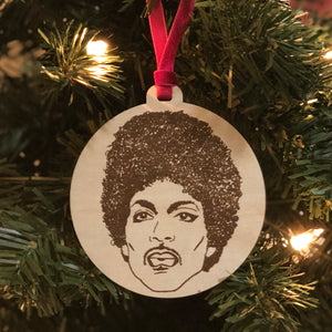 Prince Holiday Ornament