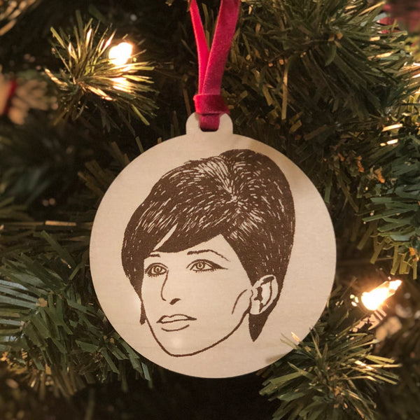 Barbra Holiday Ornament