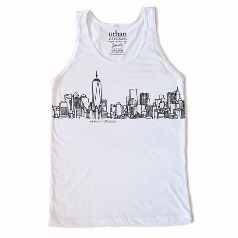 New Skyline. The Unisex Tank.