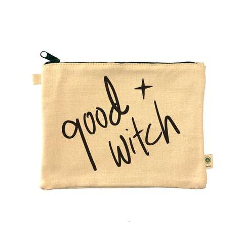 Good Witch. Tote Pouch.