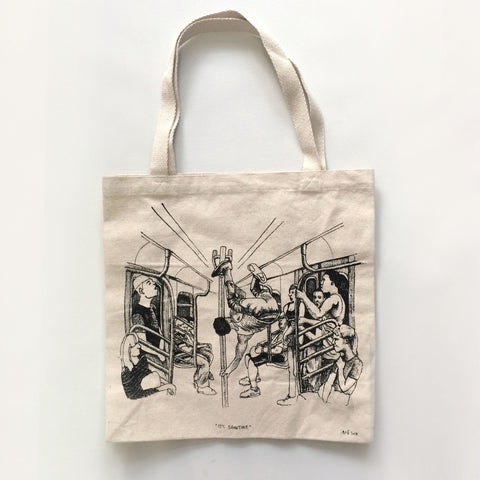 It's Showtime. The Large Tote