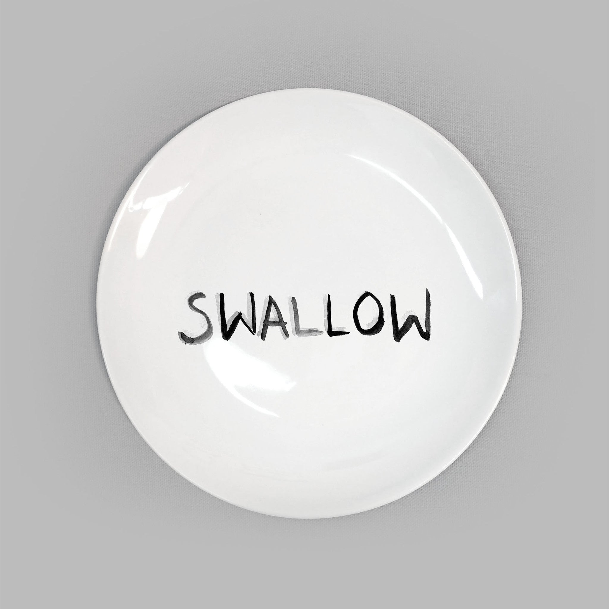 Dirty Dishes. Swallow Plate.