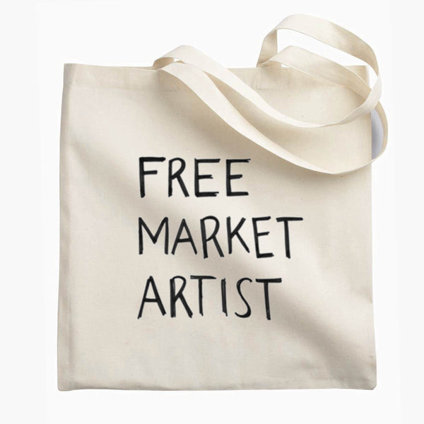 Free Market Artist. The Tote.