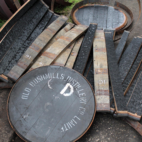 Dismantled Bushmills Barrel