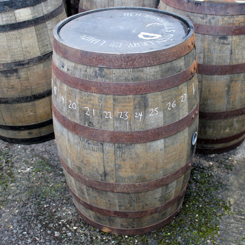 Bushmills Barrel #1, Staves 22+