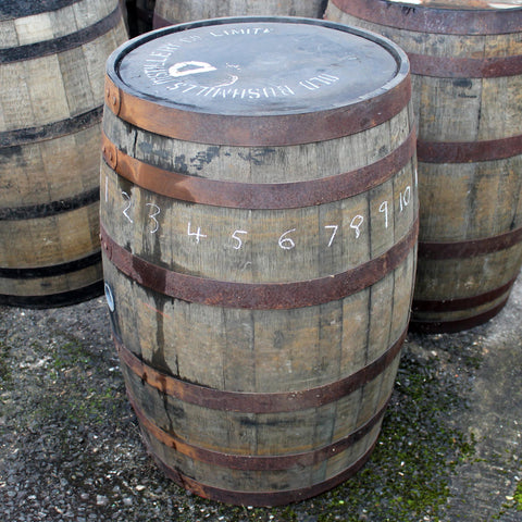 Bushmills Barrel #1, Staves 6+
