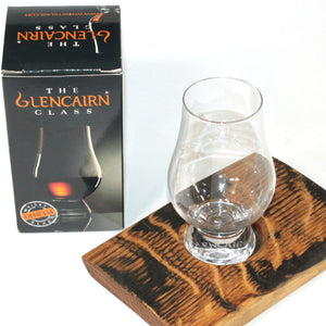 Glencairn Whiskey Glass and Holder Set