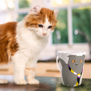 Non-Binary Cat Mug