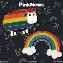 Load image into Gallery viewer, PinkNews Pride Badges