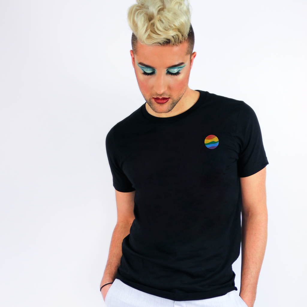 Gay Planet Embroidered T-Shirt