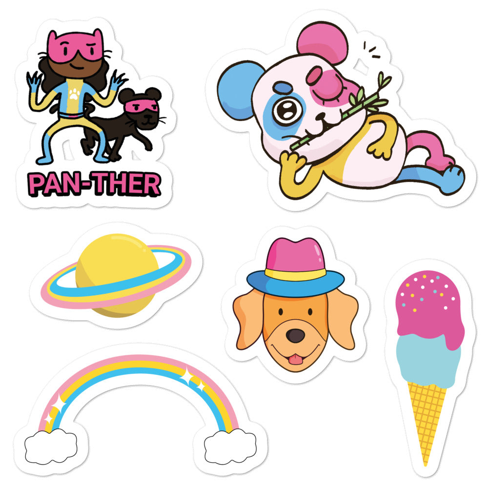 Pansexual Stickers