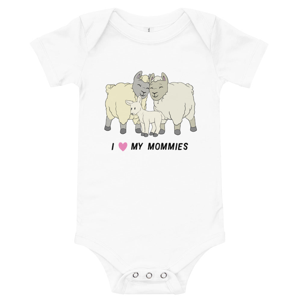 Sheep Proud Mommies Baby Bodysuit