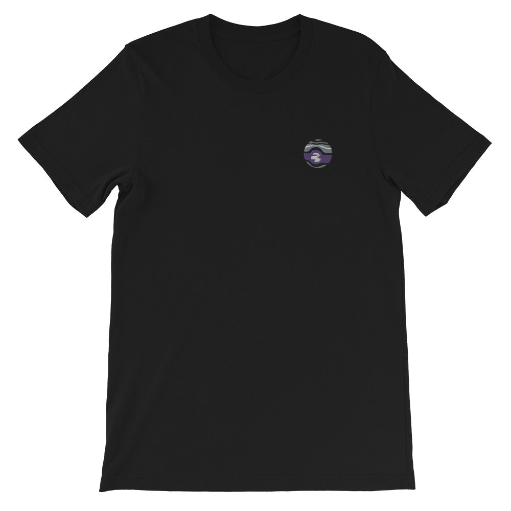 Asexual Planet Embroidered T-Shirt