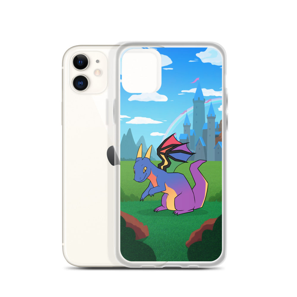 Gay Dragon iPhone Case