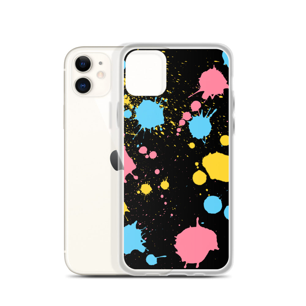 Pan Paint Splash iPhone Case
