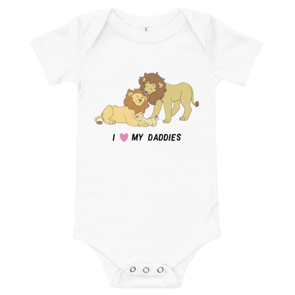 Lion Proud Parents Baby Bodysuit