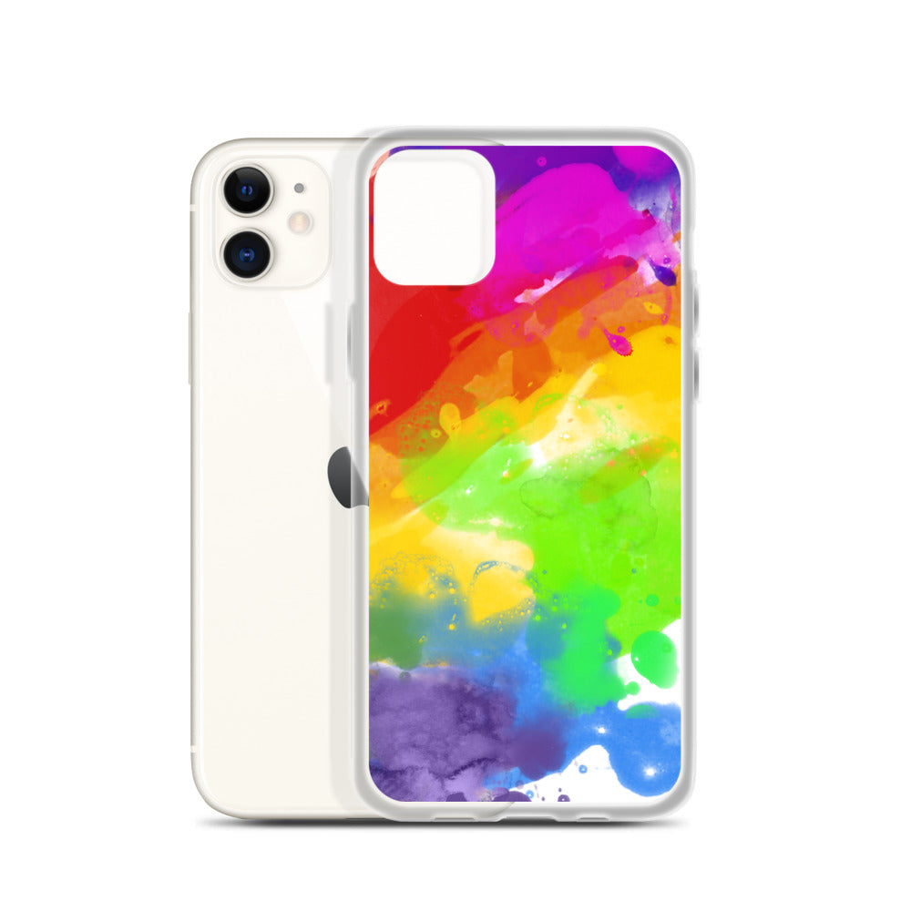 Gay Watercolour iPhone Case