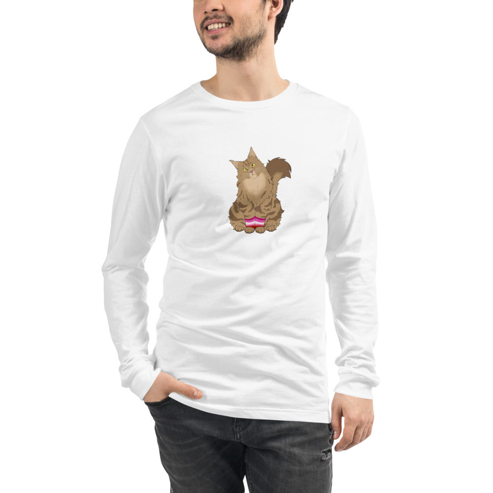 Lesbian Cat Long Sleeved T-Shirt