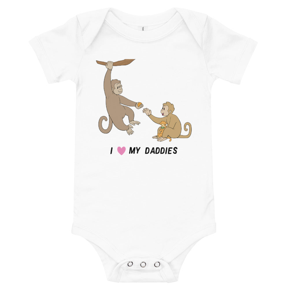 Monkey Proud Parents Baby Bodysuit