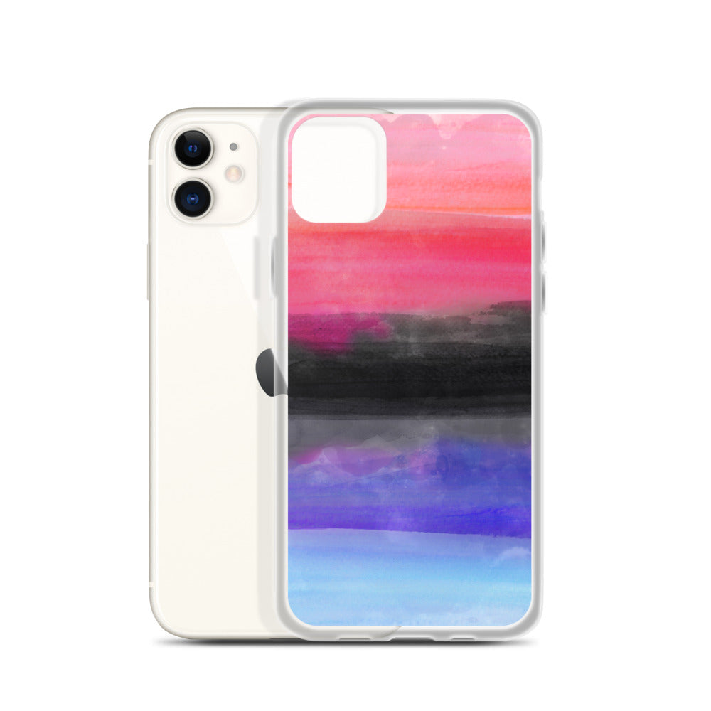 Omnisexual Watercolour iPhone Case
