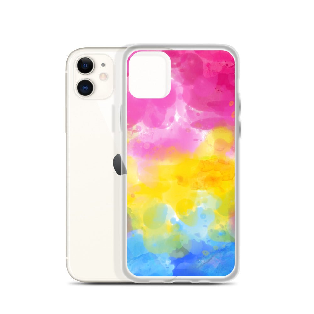 Pansexual Watercolour iPhone Case