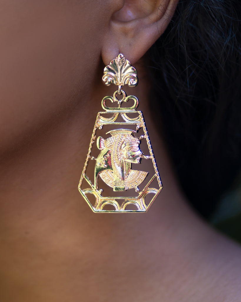 Golden Lineage Earrings
