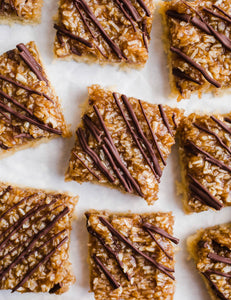 ** NEW **Better than Girl-Scout Samoa Kookie bars