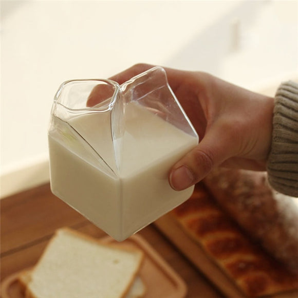 Half Pint Glass Milk Mug