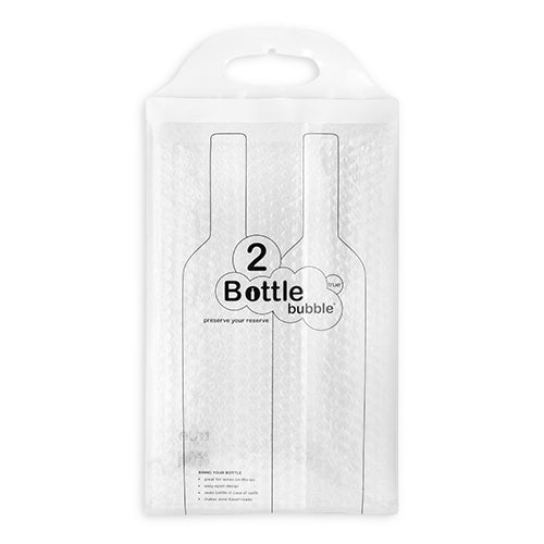 The Bottle Bubble® Protector for Two Bottles by