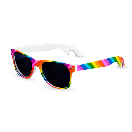 Rainbow Bottle Opener Sunglasses