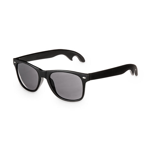 Black bottle opener sunglasses