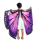 Girls butterfly shawl