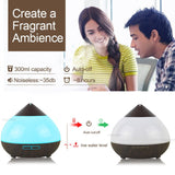light changing aromatherapy diffuser