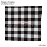Red and Black Buffalo Plaid Lumberjack Holiday Decor