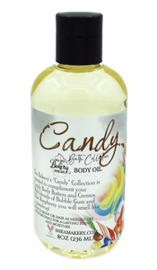 Candy Scented Body Oil