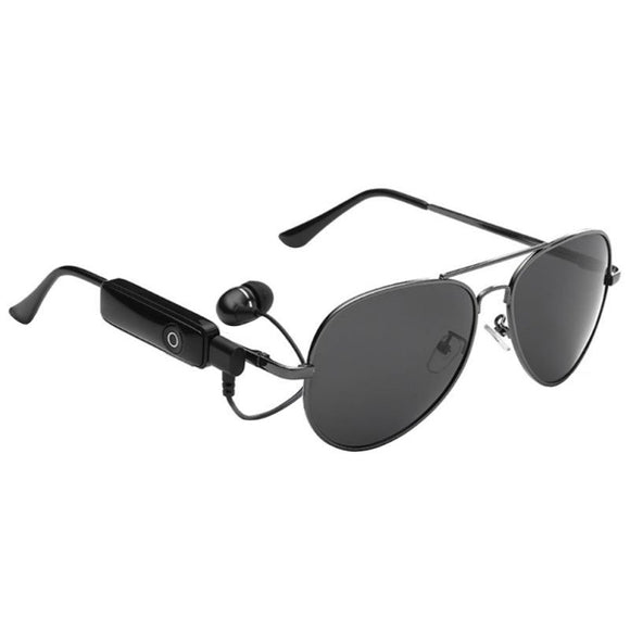 Bluetooth Aviator style sunglasses