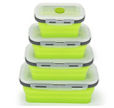 4Pcs Collapsible Storage Containers