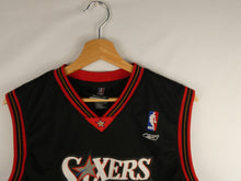 "Load image into Gallery viewer, Sixers Reebok ""Webber 4"" NBA Jersey (XL)"